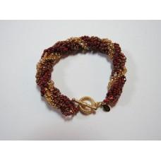 """BBTBMB209            """" Fall Bling Spiral Bracelet"""""""
