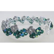 """BBTBC101         """"Holiday Crystal Bracelet"""""""