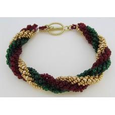 """BBTBC100              """"Holiday Spiral Bracelet"""""""