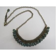 """BBTBMB105                         """"Tail Feather Necklace"""""""