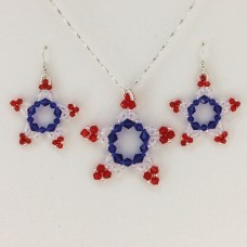 """Patriotic  Pendant/Earrings ""       June 27, 2019    (1:00pm - 3:00pm)"