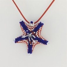 """ BBTB Patriotic Star Fish Pendant ""      June   15, 2019     (1:00pm - 3:30pm)"