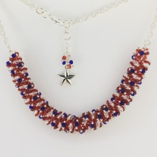 """"""" BBTB Patriotic Spiral Necklace""""     May 11, 2019  (1:00pm - 3:30pm)"""