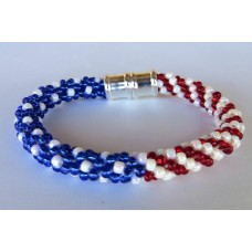 """ Patriotic Kumihimo II Beads""    June 22, 2019      (1:00pm - 3:30pm)"