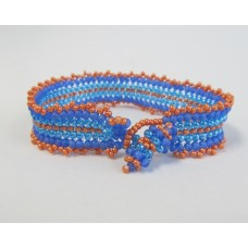 """3 Basic  Beading Stitch Techniques""            April 2,  2019  (12:00pm - 1:30pm)"