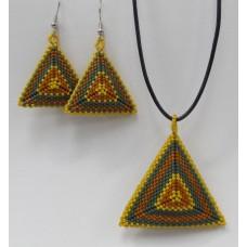 """ BBTB Geo Triangle Pendant/Earrings ""      November 14, 2019     (1:00pm - 3:00pm)"