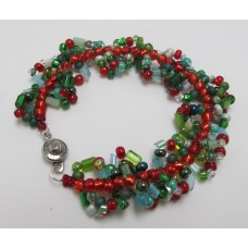 """Holiday Spiral Bracelet""         December 20, 2019    (1:00pm - 3:00pm)"