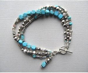 B137        Turquoise Wrap
