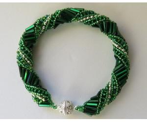 "BBTBMBC102    "" Holiday Russian Spiral Bracelet"""