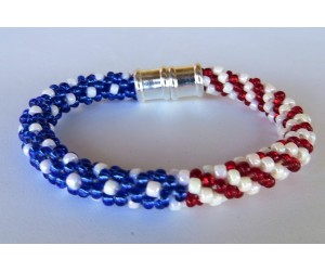 """ Patriotic Kumihimo II Beads""    June 23, 2018      (1:00pm - 3:30pm)"