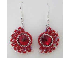 """ Crescent Burst Earrings ""      February 9, 2018     (1:00pm - 3:30pm)"