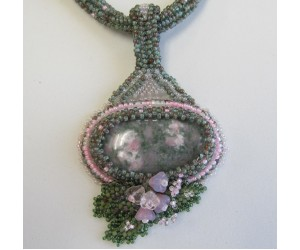 """ Embellished Beaded Cabochon""       April 13, 2017 (12:30pm - 3:00pm)"