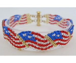 BBTB74110          Fourth Flag Bracelet