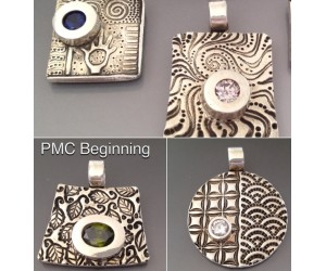 """ PMC Beginning Pendant""    Darlene Armstrong       November 3,  2017      (9:30am - 5:30pm)"