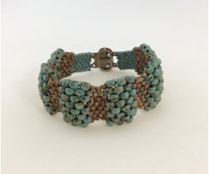"""Curvy Peyote Bracelet""      May 10,  2018    (1:00pm - 3:00pm)"