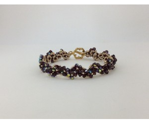 """Fall Crystal Bracelet""   October 25, 2017    (1:00pm - 3:30pm)"
