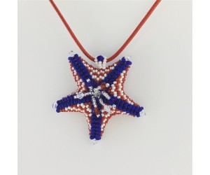""" BBTB Patriotic Star Fish Pendant ""      June   23, 2018     (1:00pm - 3:30pm)"