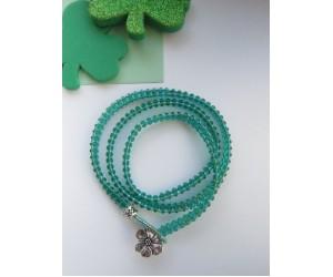 """ St Patty's Wrap Bracelet""      March 3, 2018      (1:00pm - 3:00pm)"
