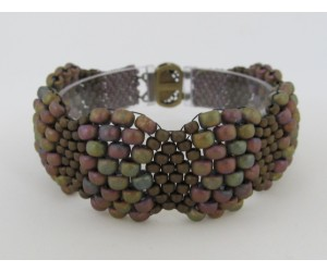 """Curvy Peyote Bracelet""      July 14,  2018    (1:00pm - 3:00pm)"