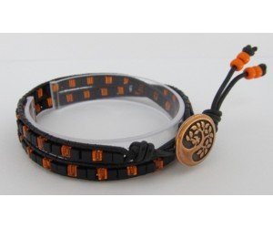 """Halloween  Leather Wrapped Bracelet""    October 17, 2018   (1:00pm - 3:00pm)"
